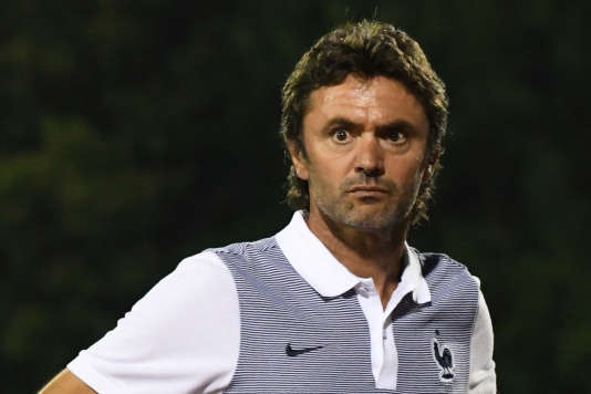 Le nouveau sélectionneur de l'équipe de France Espoirs, Sylvain Ripoll.