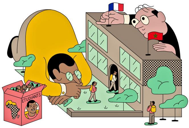 Les grandes écoles essaiment en Afrique du Nord.