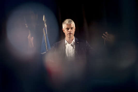 Laurent Wauquiez, le 3 septembre.