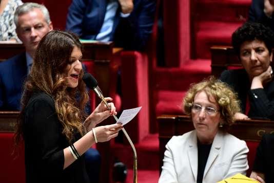 Les quatre élus interpellent Marlène Schiappa, la secrétaire d'Etat chargée de l'égalité entre les femmes et les hommes.