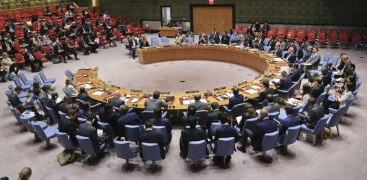 Le vote de lundi portera sur une nouvelle version du projet de résolution, largement amendé par les Etats-Unis pour tenter d'obtenir le soutien de la Russie et de la Chine.