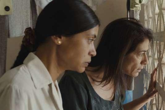 Juliette Navis etHiam Abbass dans le filmbelge et français de Philippe Van Leeuw,«Une famille syrienne».
