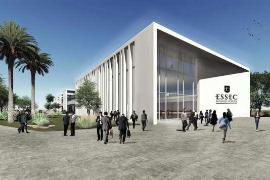 Le campus Essec Afrique-Atlantique à Rabat.