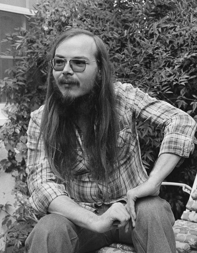 Walter Becker, en 1977, à Los Angeles.