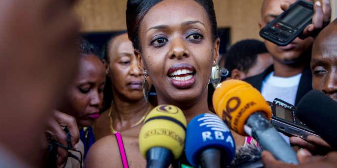 Diane Shima Rwigara, le 20 juin 2017 à Kigali.