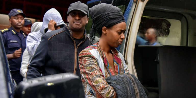 Diane Shima Rwigara, après son arrestation à Kigali le 4 septembre 2017.