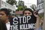 Aux funérailles d'un adolescent tué lors d'une confrontation avec la police, à Manille, le 5 septembre.