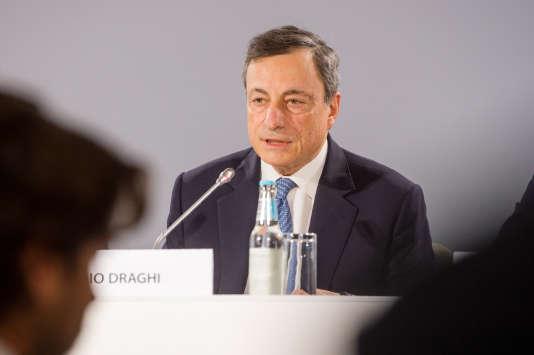 Mario Draghi, président de la BCE, le 8 juin.