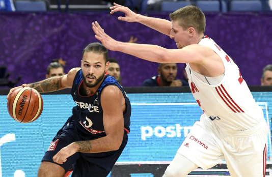 Evan Fournier n'a marqué que quatre points face à la Pologne, en 20 minutes de jeu.