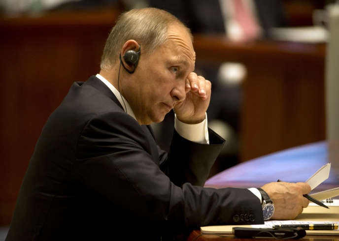Vladimir Poutine, le 5 septembre à Xiamen.