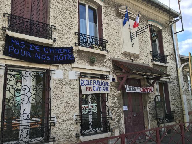 L'école élémentaire Jules-Ferry à Montreuil.