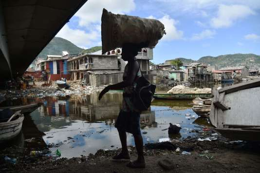 A Cap-Haïtien, le 5 septembre, quelques heures avant l'arrivée de l'ouragan Irma.