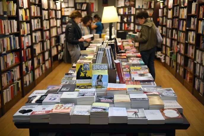 Dans la librairie Le Failler à Rennes (Ille-et-Vilaine), le 5 septembre.