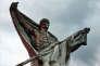 Monument du Mort-Homme, de Jacques Froment-Meurice, à Cumières (Meuse), commémorant la bataille de Verdun (1916).