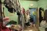 Dans une maison d'Aubervilliers (Seine-Saint-Denis) louée à trente Bangladais, en avril 2013.