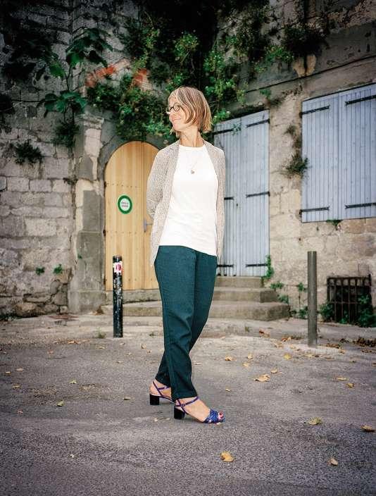 Françoise Nyssen, belge naturalisée française, s'est définitivement installée à Arles après sa rencontre avec Jean-Paul Capitani, une des figures locales. Le 9 août.