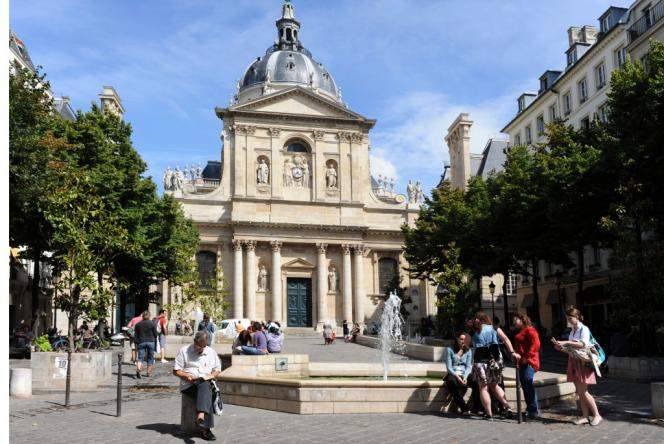 L'université de la Sorbonne, à Paris