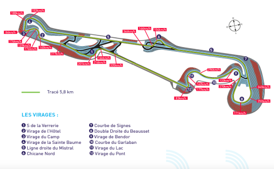 Formule 1 neuf mois du grand prix de france les d fis for Carte de france des hotels formule 1