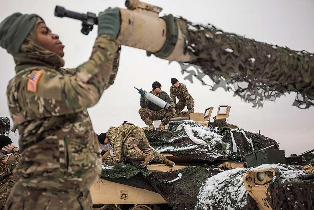Les Etats-Unis ont envoyé dans le «passage de Suwalki» 87 tanks venus du Colorado.
