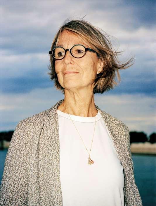 Françoise Nyssen à Arles, le 9 août.
