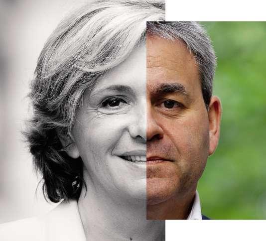 Valérie Pécresse et Xavier Bertrand.