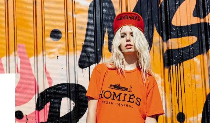 Brian Lichtenberg,jeune marque vendue en ligne,parodie, entre autres, le logo Hermès.