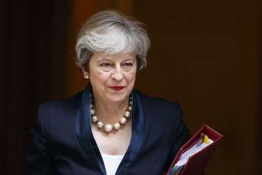 La première ministre britannique Theresa May à Londres, le 6 septembre.
