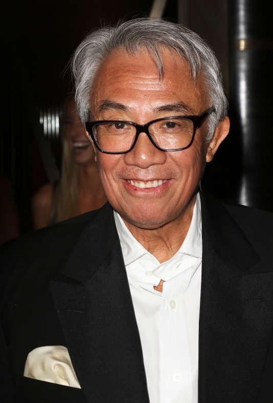 Sir David Tang, le 1eroctobre2015, à Londres.