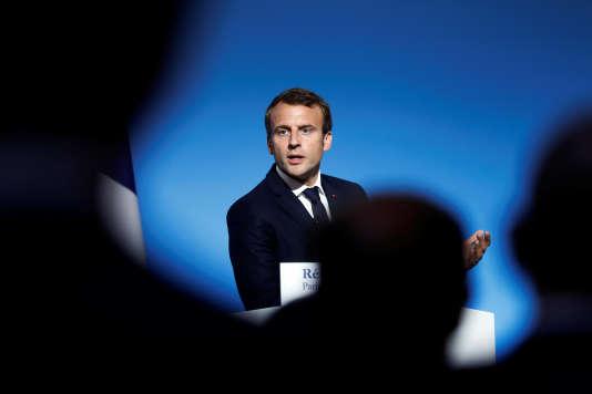 Emmanuel Macron, le 5 septembre à Paris.