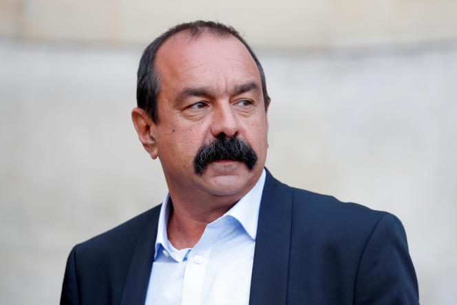 Philippe Martinez, le 31 août à Paris.