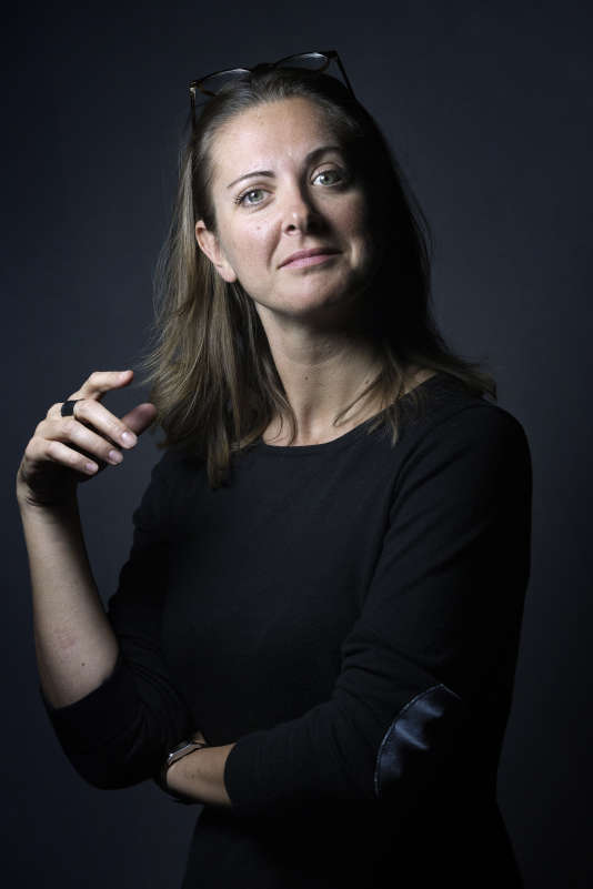 Charline Vanhoenacker, le 3 novembre 2015, à Paris.