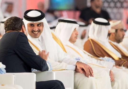 C'est l'émir du Qatar, le cheikh Tamim Ben Hamad Al-Thani qui a appelé le prince héritier saoudien, Mohammed Ben Salman Al-Saoud.