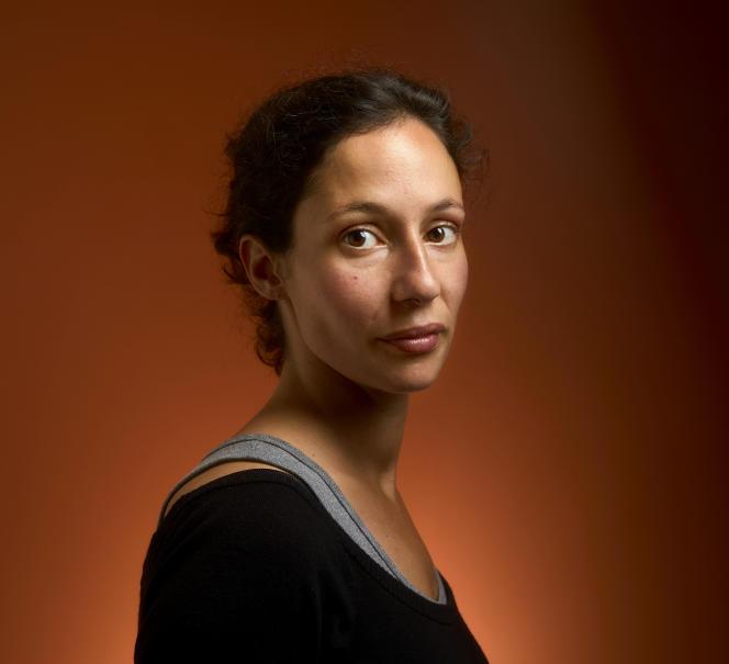 L'écrivaine Alice Zeniter, le 5 septembre.