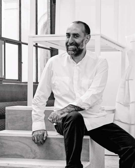 Rabih Kayrouz, styliste et fondateur de la maison de couture Rabih Kayrouz.