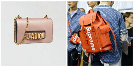 Dior s'autoparodie et Louis Vuitton collabore avec Supreme, après lui avoir intenté un procès.