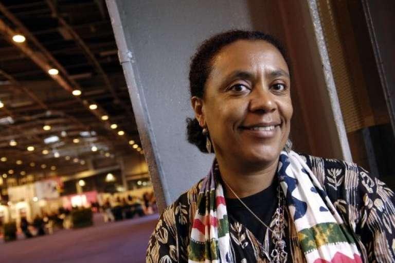 L'écrivaine franco-ivoirienneVéronique Tadjo, à Paris, en mars 2006.