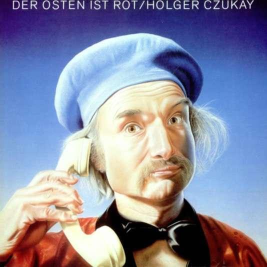 Pochette de l'album d'Holger Czukay,« Der Osten is Rot» (1984).