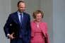 Le premier ministre, Edouard Philippe – ici en compagnie de la ministre du travail, Muriel Pénicaud, le 6 septembre –, aannoncé le 24 août qu'il y aurait cette année 139000contrats aidés de moins qu'en 2016.