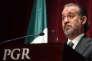 Raul Cervantes,procureur de la République du Mexique, en février à Mexico.