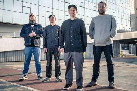 Le quatuor rock écossais Mogwai.