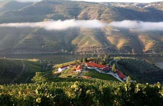 La Quinta Nova de Nossa surplombe le fleuve Douro, au cœur de 120 hectares de vignes en terrasse.