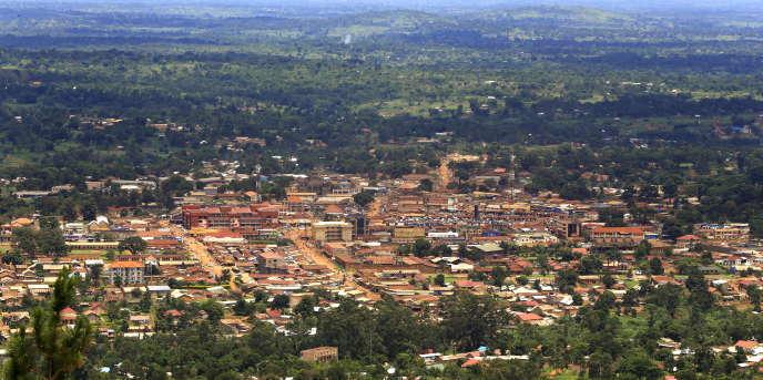 La ville de Hoima, dans l'ouest de l'Ouganda, en avril 2015.