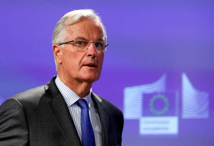 Michel Barnier, à Bruxelles, le 7 septembre.