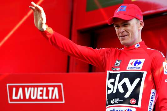 Christopher Froome, le 7 septembre.