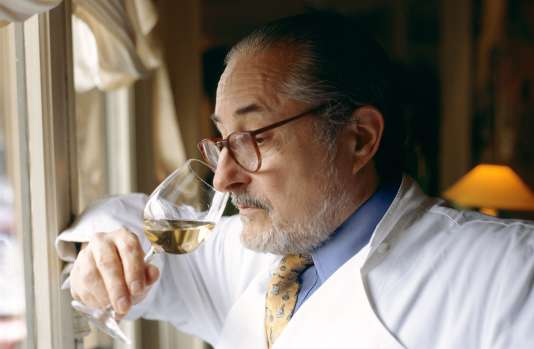 Alain Senderens, en 1997, au Lucas Carton, Paris 9e.