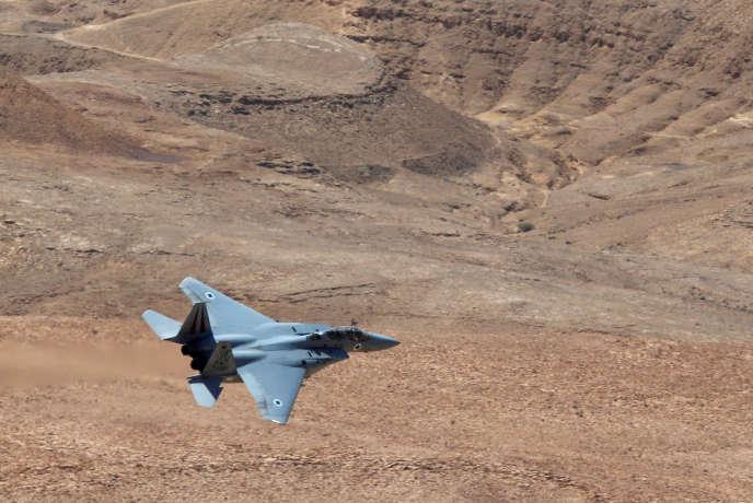 Un avion de combat F-15 des forces aériennes israéliennes, en juin 2016.