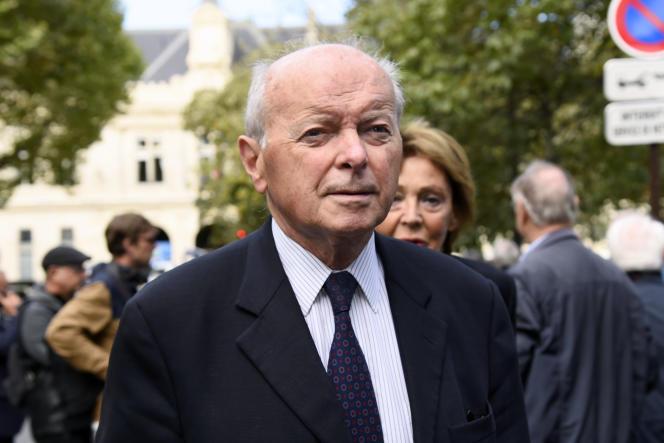Jacques Toubon, le défenseur des droits, à Paris, le 1er septembre.