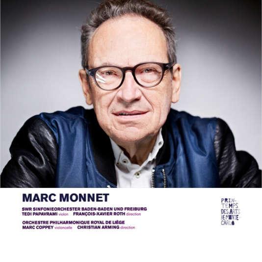 Pochette de l'album« Concertos», de Marc Monnet.
