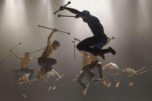 «Les nuits barbares ou les premiers matins du monde», de la compagnie Hervé Koubi, l'un des spectacles présentés au festival Le Temps d'aimer la danse.