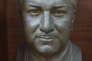 Le buste offert par la Corée du Nord au Dr Abdul Qadeer Khan en remerciement pour sa contribution au programme nucléaire nord coréen. © DR
